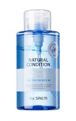 Вода мицеллярная THE SAEM Natural Condition Sparkling Cleansing Water 500мл: фото