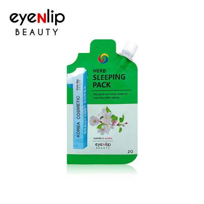 Маска для лица ночная Eyenlip HERB SLEEPING PACK 20гр: фото