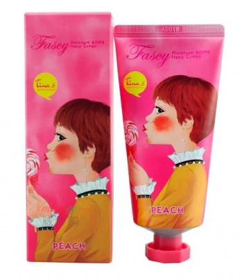 Крем для рук FASCY Moisture Bomb Hand Cream PEACH 40мл: фото