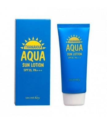 Лосьон солнцезащитный увлажняющий SECRET KEY Thanakha Aqua Sun Lotion SPF35 PA+++ 100г: фото