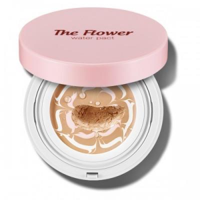 Основа под макияж увлажняющая SECRET KEY The Flower water pact 01 Light Beige 15г: фото