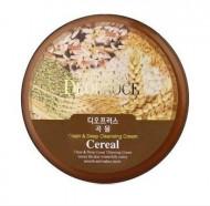 Крем для лица очищающий зерновой DEOPROCE PREMIUM CLEAN & DEEP CEREAL CLEANSING CREAM 300г: фото
