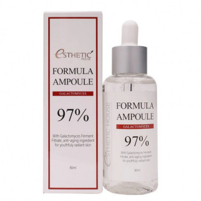 Сыворотка для лица с галактомисисом ESTHETIC HOUSE FORMULA AMPOULE GALACTOMYCES 80 мл: фото
