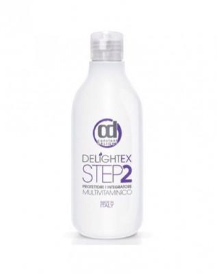 Эликсир-крем мультивитаминная защита после осветления и окрашивания волос Constant Delight Delightex STEP 2 250мл: фото