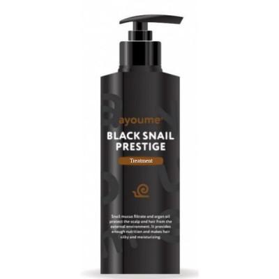 Бальзам для волос с муцином улитки AYOUME BLACK SNAIL PRESTIGE TREATMENT 240 мл: фото