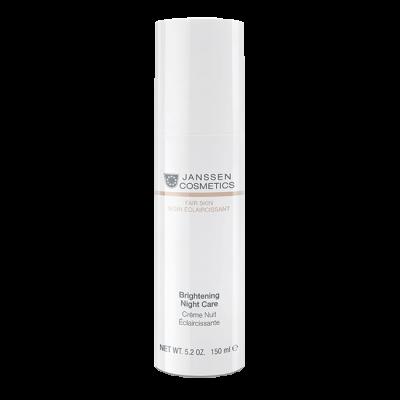 Крем ночной осветляющий Janssen Cosmetics Brightening Night Care 150мл: фото
