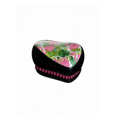 Расческа Tangle Teezer Compact Styler Фламинго черная: фото