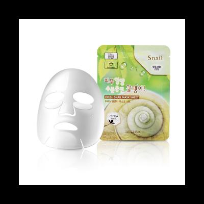 Тканевая маска для лица с муцином улитки 3W CLINIC Fresh Snail Mask Sheet: фото