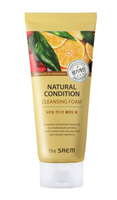 Пенка для умывания сияние THE SAEM Natural Condition Cleansing Foam Brightening 150мл: фото