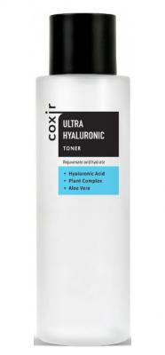 Тонер увлажняющий с гиалуроновой кислотой COXIR Ultra Hyaluronic Toner 150мл: фото