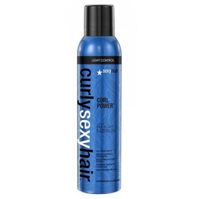 Спрей-мусс для усиления кудрей SEXY HAIR Curly Power 250мл: фото