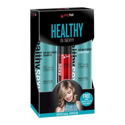 Набор Объемное оздоровление SEXY HAIR Healthy is Sexy!: фото