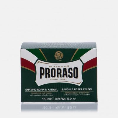 Мыло для бритья освежающее Эвкалипт Proraso Green 150 мл: фото