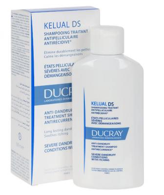 Шампунь для лечения тяжёлых форм перхоти Ducray KELUAL DS SHAMPOO 100 мл: фото