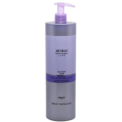 Шампунь для обесцвеченных волос Dikson SHAMPOO FOR BLONDE AND BLEACHED HAIR 1000мл: фото