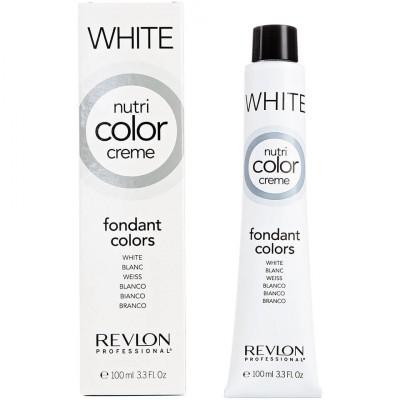 Краска для волос без аммиака Revlon Professional Nutri Color Creme 000 белый 100мл: фото