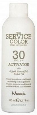 Активатор NOOK Service color ACTIVATOR 30 vol / 9% 150 мл: фото