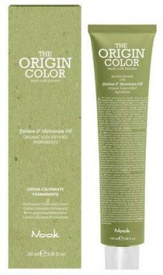 Краска для волос NOOK Origin Color Cream 6.34 Золотисто-Медный Темный Блондин 100 мл: фото