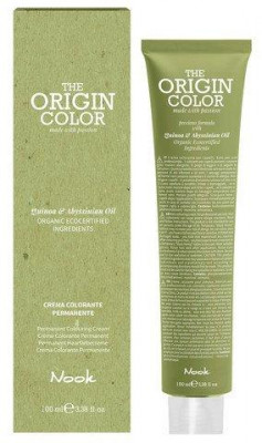 Краска для волос NOOK Origin Color Cream 10.11 Интенсивный Пепельный Платиновый Блондин 100 мл: фото