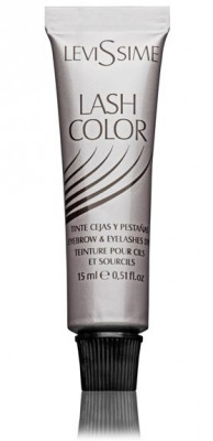 Краска для бровей и ресниц LEVISSIME #1-6 иссиня-черный 15мл: фото