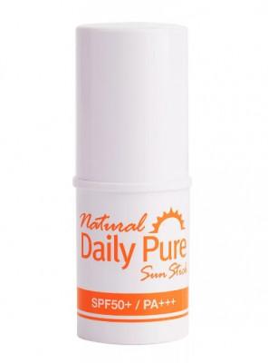 Солнцезащитный Крем-стик Natural Daily Pure Sun Stick SPF50+/PA+++ 13г: фото