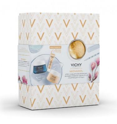 Набор Vichy Neovadiol: Компенсирующий комплекс, дневной крем-уход50мл + Компенсирующий комплекс, ночной крем-уход 50мл + Крем для контура глаз и губ 15мл в ПОДАРОК: фото