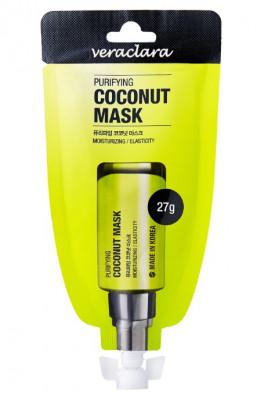 Маска-плёнка Очищающая с кокосом Veraclara Purifying Coconut Mask 27 г: фото