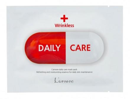 Тканевая маска-лифтинг для лица L'arvore Daily Care Mask Wrinkless 25 г: фото