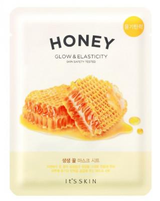Тканевая маска питательная с мёдом It'S SKIN The Fresh Honey Mask Sheet 20 г: фото