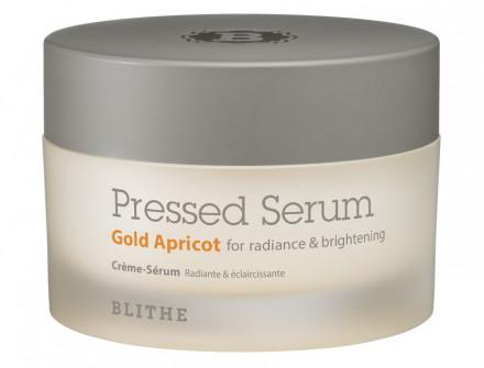 Сыворотка-крем спресованная для сияния BLITHE Pressed Serum Gold Apricot 50 мл: фото