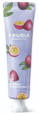 Крем для рук увлажняющий c маракуйей Frudia My Orchard Passion Fruit Hand Cream 30 г: фото