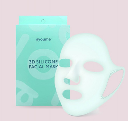 Маска 3D силиконовая для косметических процедур AYOUME: фото