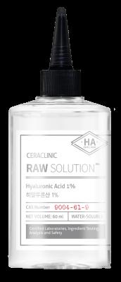 Сыворотка универсальная ГИАЛУРОН EVAS CERACLINIC Raw Solution Hyaluronic Acid 1% 60мл: фото