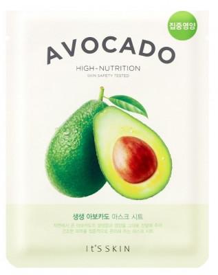 Тканевая маска смягчающая с авокадо It'S SKIN The Fresh Avocado Mask Sheet 21 г: фото
