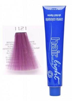 Крем-краска для волос Hair Company Hair Light Crema Colorante 11.21 специальный блондин фиолетово-пепельный экстра 100мл: фото
