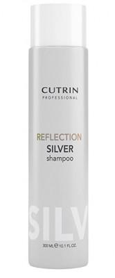 Шампунь для поддержания цвета CUTRIN REFLECTION COLOR CARE Серебристый иней 300мл: фото