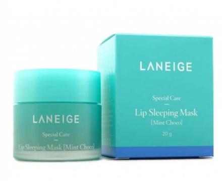 Ночная маска для губ с ароматом мятного шоколада LANEIGE Lip Sleeping Mask Choco Mint: фото