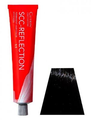 Крем-краска для волос CUTRIN SCC REFLECTION 4.71 экстратемная гаванна серебристая 60мл: фото