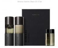 Набор для ухода за кожей для мужчин Mineral Homme Black EX 2 Set: фото