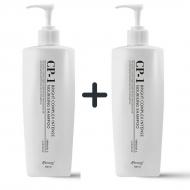 Beauty box Бьюти бокс 1+1 Набор из 2 протеиновых шампуней для волос ESTHETIC HOUSE CP-1 BC Intense Nourishing Shampoo, 500 мл