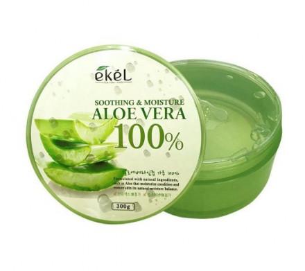 Гель успокаивающий с алоэ 100% Ekel Soothing Gel Aloe 300 г: фото