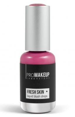 Эмульсионные румяна PROMAKEUP laboratory FRESH SKIN liquid blush drops 03 deep pink 8,5мл: фото
