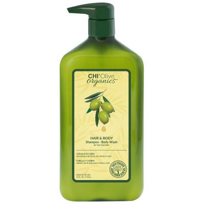 Шампунь для волос и тела CHI OLIVE ORGANICS 710 мл: фото