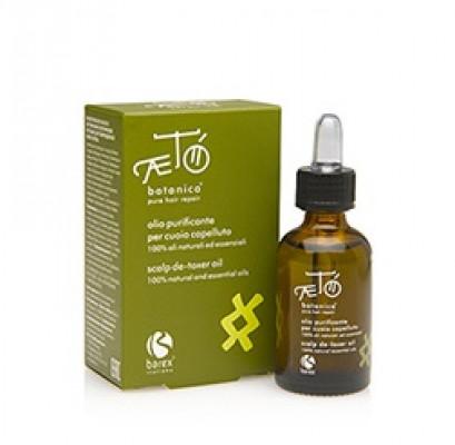 Экстракт масел экзотических растений для поврежденной кожи головы Barex Aeto Botanica Scalp De-toxer oil 30мл: фото