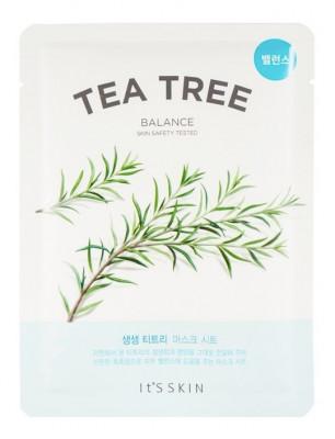 Тканевая маска противовоспалительная с чайным деревом It's Skin The Fresh Tea Tree Mask Sheet 18 г: фото