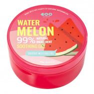 Успокаивающий гель с экстрактом арбуза 99% DEARBOO Everyday Moisturizing Soothing Gel Watermelon 300 мл: фото