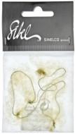 Сеточка-паутинка для причесок медно-бежевая Sibel 2шт: фото