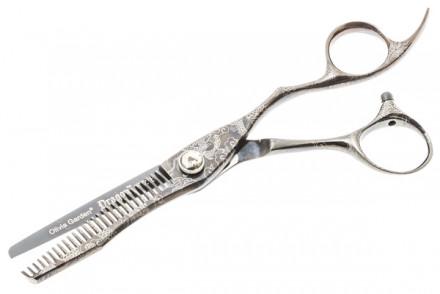 Филировочные ножницы Olivia Garden Dragon 628: фото