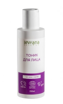 Тоник для жирной кожи лица Levrana 150мл: фото