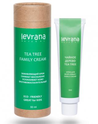 Заживляющий крем для всей семьи Levrana